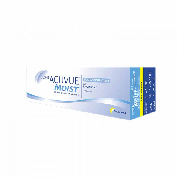 Acuvue Oasys 1-Day for Astigmatism (90 линз)